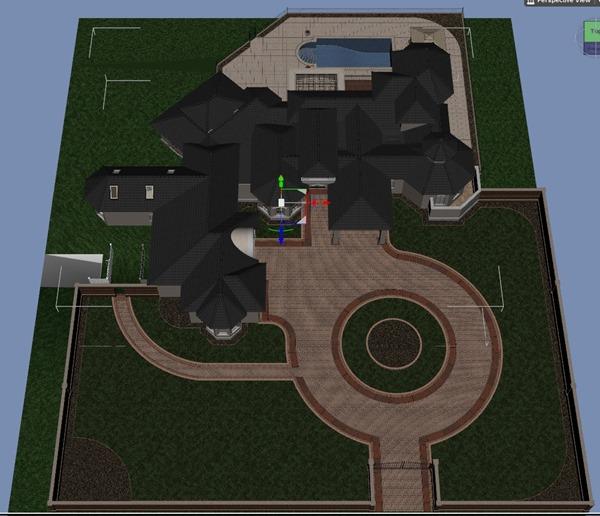 Dream Homeを使う。6  庭を造る。【Daz Studio4.5 ベータ】