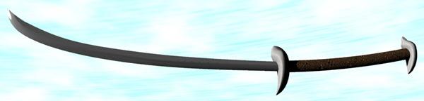 ル・アの刀を作る。3  疑似ポリゴン変換。【Shade10.5】