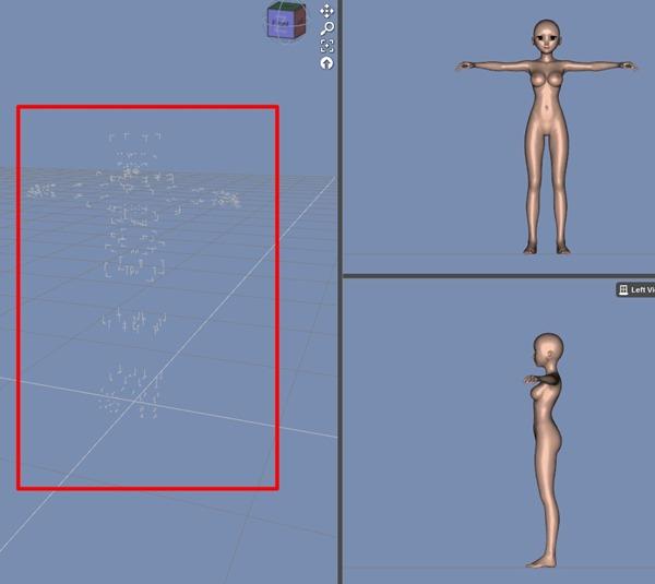 【Daz Studio4.6】フィギアが、特定のタブの特定のカメラだけ表示が変!【エラー&解決】