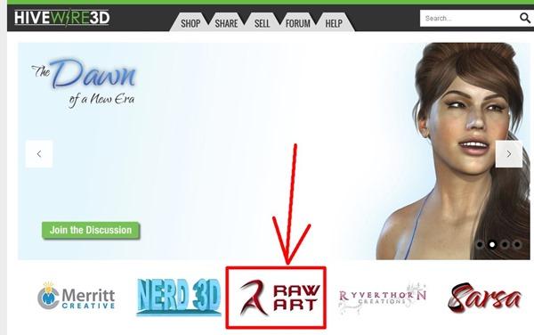 130810_D 天川和香 create3D HiveWire 3D 『Dawn』無料女性フィギアダウンロードページ0217