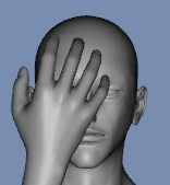 130814_D 天川和香 Create3D 【Daz Studio4.6】ル・アを作る。顔のポリゴンを修正する。【Metasequoia】0119