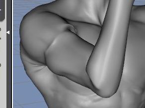 130814_D 天川和香 Create3D 【Daz Studio4.6】ル・アを作る。顔のポリゴンを修正する。【Metasequoia】0121