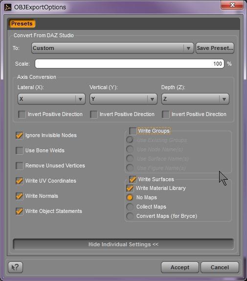 130815_D 天川和香 Create3D 【Daz Studio4.6】ル・アを作る。顔のポリゴンを修正する。0140