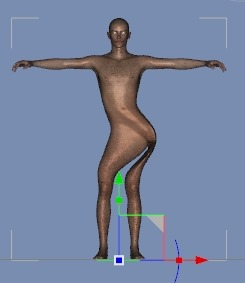 130815_D 天川和香 Create3D 【Daz Studio4.6】ル・アを作る。顔のポリゴンを修正する。0142