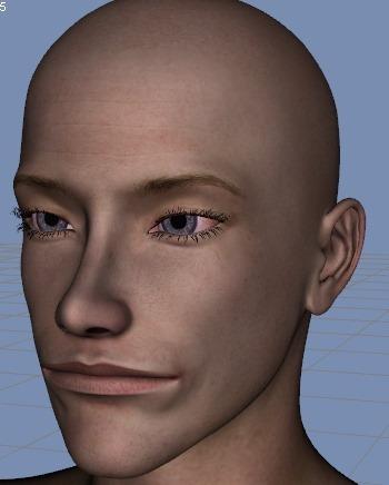 130815_D 天川和香 Create3D 【Daz Studio4.6】ル・アを作る。顔のポリゴンを修正する。0145