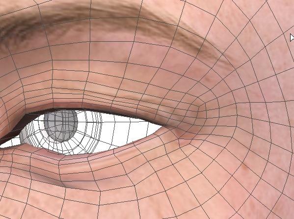 130815_D 天川和香 Create3D 【Daz Studio4.6】ル・アを作る。顔のポリゴンを修正する。0156