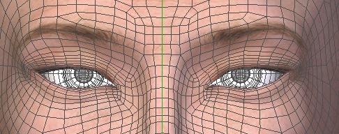 130815_D 天川和香 Create3D 【Daz Studio4.6】ル・アを作る。顔のポリゴンを修正する。0158