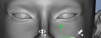 130815_D 天川和香 Create3D 【Daz Studio4.6】ル・アを作る。顔のポリゴンを修正する。0160