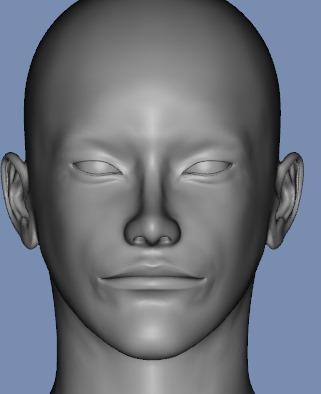 130815_D 天川和香 Create3D 【Daz Studio4.6】ル・アを作る。顔のポリゴンを修正する。0166