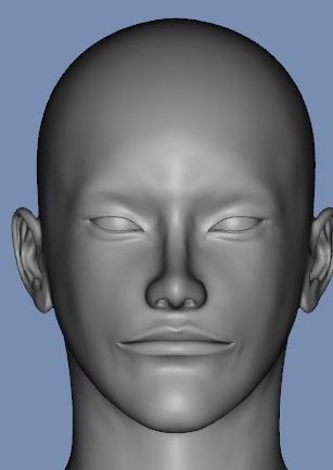 130815_D 天川和香 Create3D 【Daz Studio4.6】ル・アを作る。顔のポリゴンを修正する。0173
