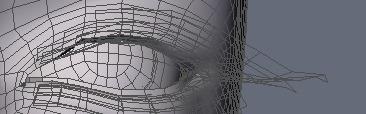 130815_D 天川和香 Create3D 【Daz Studio4.6】ル・アを作る。顔のポリゴンを修正する。0178