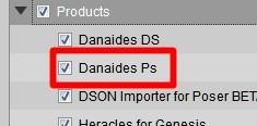 【Daz3D】DAZ Install Managerで使わないアイテムをインストールしない方法。