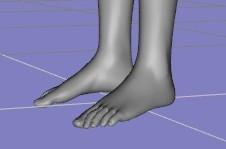 【Daz Studio4.6】ポーズを左右対象にする方法。【一分でできます♪】