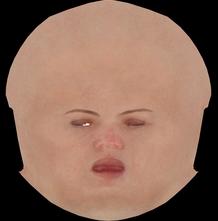 【3dフィギア】人物の皮膚テクスチャの作り方について【概要】