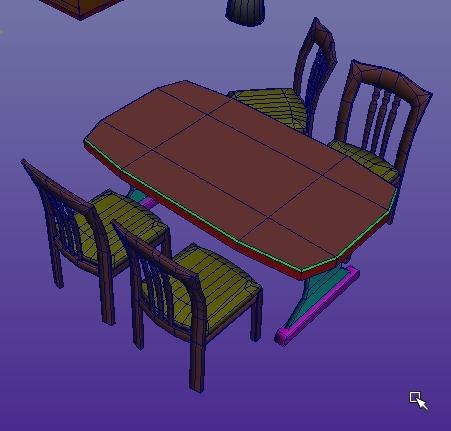 【Autodesk Maya 2014】マンションの一室を作る。8