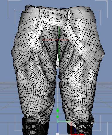 【Marvelous Designer 4】型紙を変えずに服のサイズを変更する。2