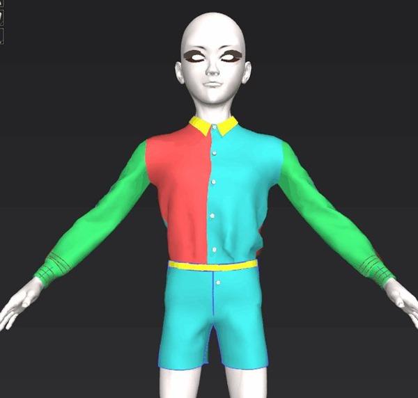 【MD6】薬研藤四郎の服作成16【シャツとズボンを合わせる】