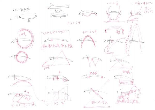 2017年01月27日歌仙兼定り 刀置き デザイン 素案 (1)